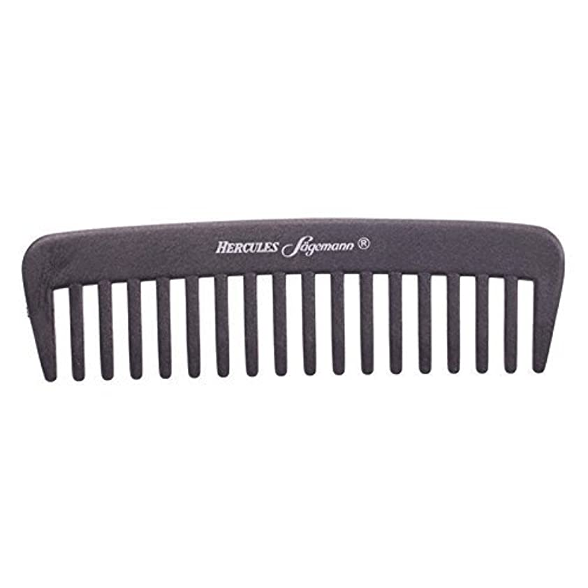 インフレーション発見不利益Hercules S?gemann Carbon Afro - Hair Styler Comb for Curly Hair | Made in Germany [並行輸入品]