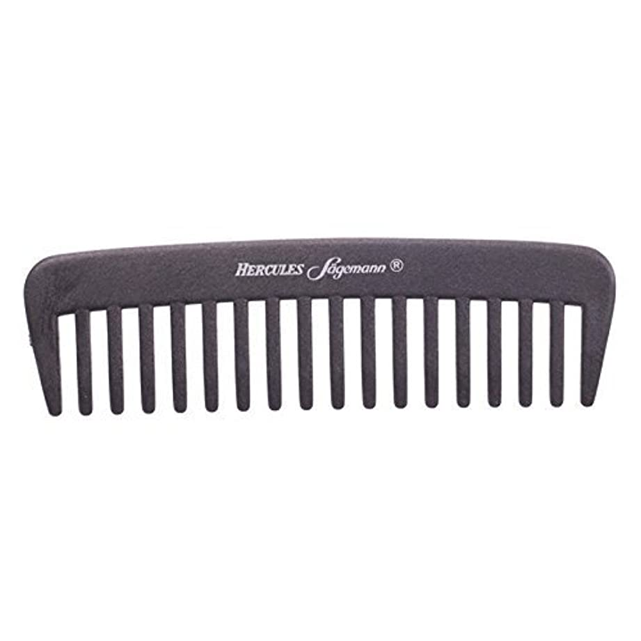 弱まる水没服を洗うHercules S?gemann Carbon Afro - Hair Styler Comb for Curly Hair | Made in Germany [並行輸入品]
