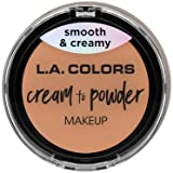 (3 Pack) L.A. COLORS Cream To Powder Foundation - Shell (並行輸入品)