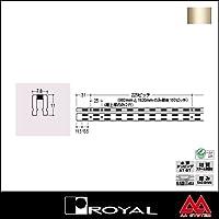 e-kanamono ロイヤル 棚柱 チャンネルサポート(シングル) ASF-1 3000mm Aニッケルサテン