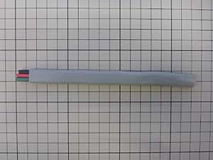 600Vビニル絶縁ビニルシースケーブル平形2.0mm3心(黒、赤、緑)約0.5m(500mm)切り売り (VVF2.0mmx3心200Vアース用)