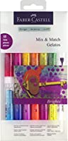 (Mix and Match Crayon - Bright) - Faber-Castell Gelatos Mix And Match Crayon - Bright