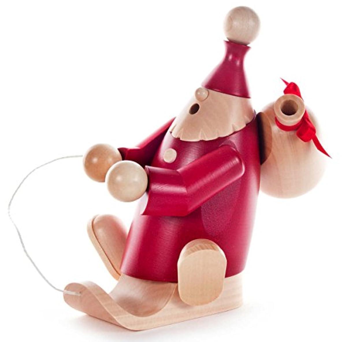 納税者デザイナーすべき赤そりサンタ袋ドイツSmoker – 6 / 34インチTall – ドイツ製