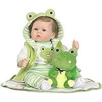 リボーン赤ちゃん BigTron ソフトシミュレーションシリコーンビニール製 ビニールリアル 人形 リボーンベビードール 15.7インチ40cm 磁気口アクリルの目 可愛い子供おもちゃ-RB094安全認証