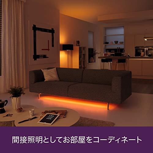 『Philips Hue(ヒュー)ライトリボンプラス エクステンション スマートLEDライト フルカラー照明 915005241701【延長オプション、Amazon Echo、Google Home、Apple HomeKit、LINE対応】』の2枚目の画像