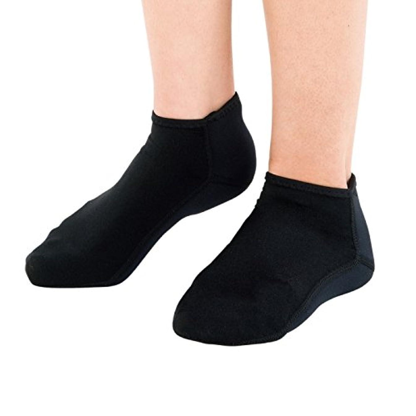 うめき声賞ガイダンス靴下 かかと 保湿 チタン 素足小町 フル