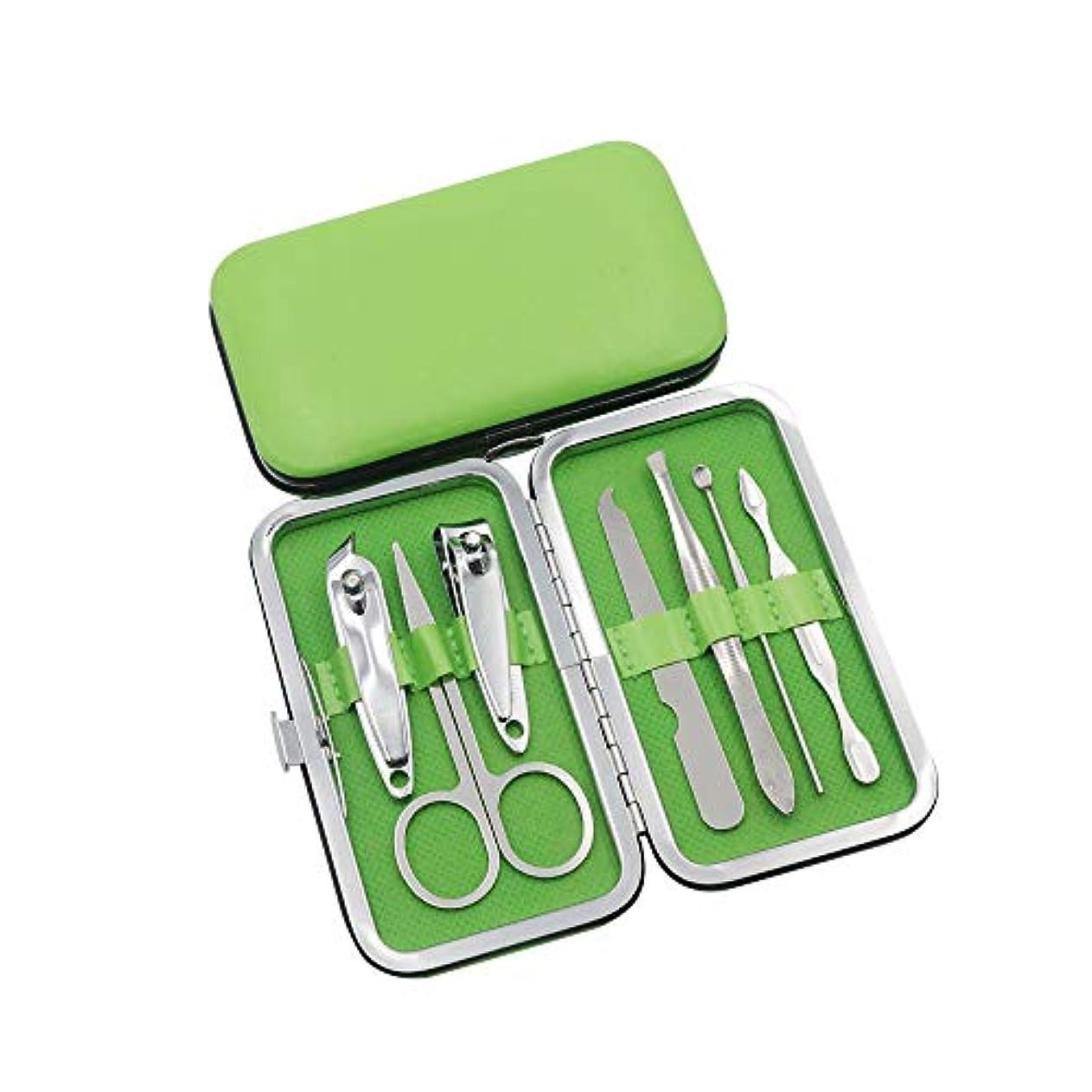 腫瘍ラリー迷惑ネイルケアセット爪やすり 爪切り 爪切りセット携帯便利 収納ケース付き、7点セット