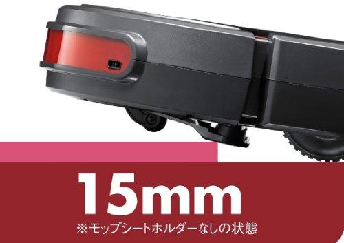 CCP 【LAQULITO】 壁にぶつからない自動ロボット掃除機(ハイグレードモデル) ダークレッド CZ-907-DR