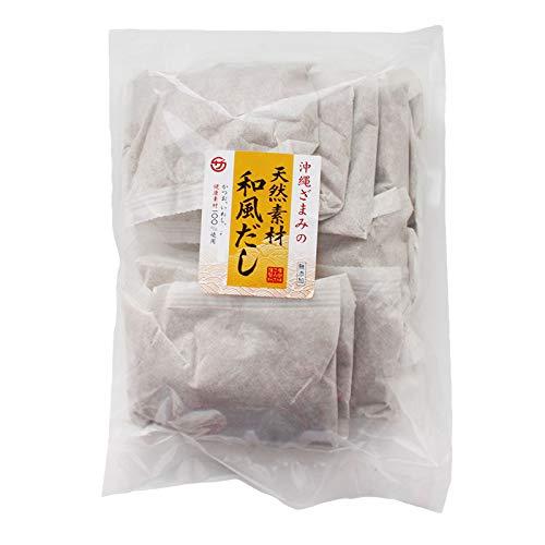 沖縄ざまみの天然和風だし100g×10P×1P 座間味こんぶ かつお いわし 健康素材100%の和風だしパック 味噌汁やうどん、お鍋の出汁にどうぞ