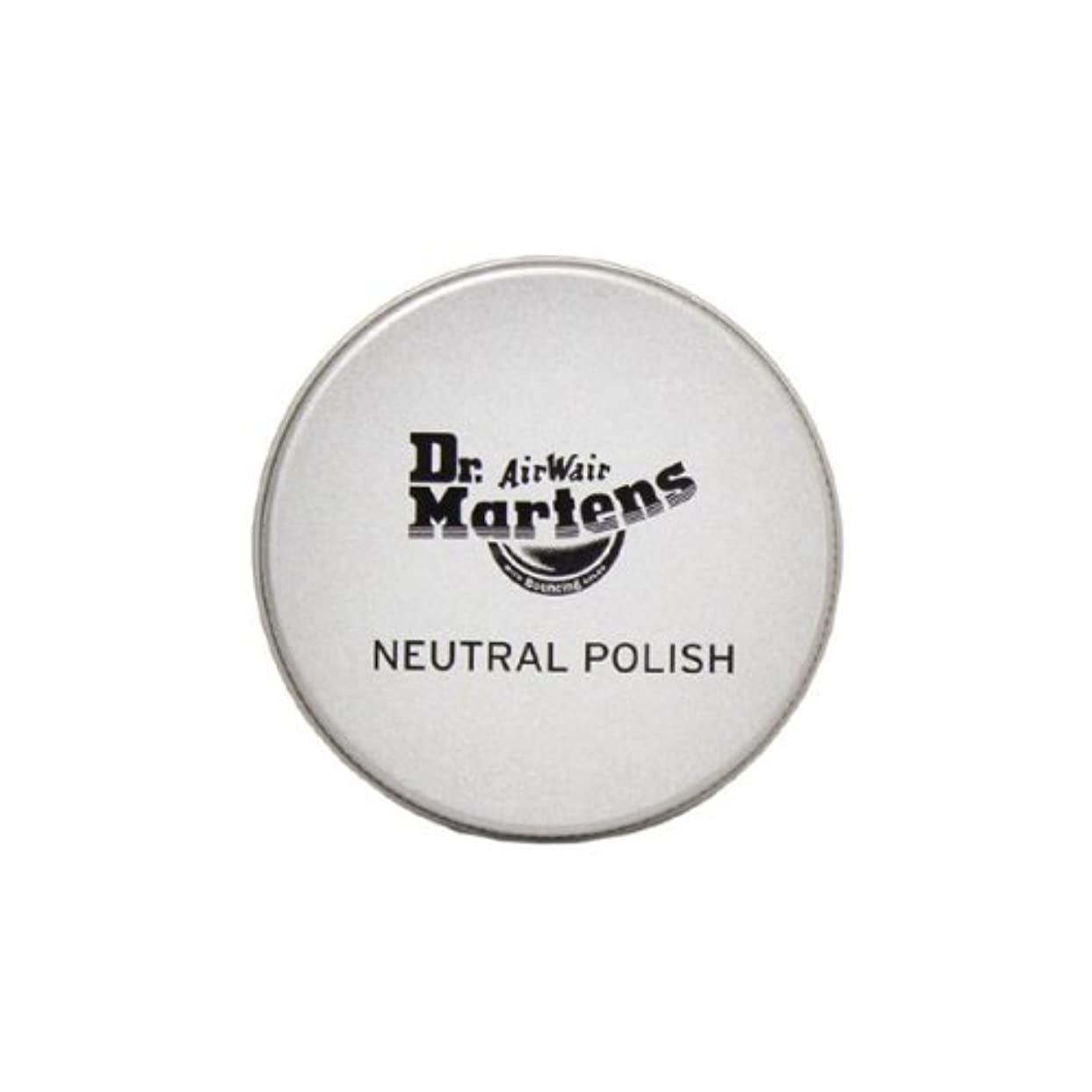 コントラスト意味のあるスチール(ドクターマーチン) Dr.Martens NEUTRAL POLISH ニュートラルポリッシュ スムースレザー用