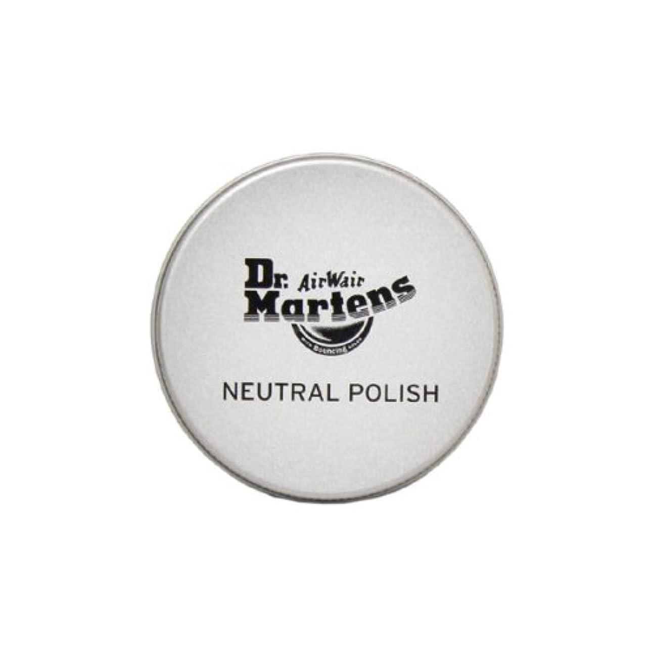 保守的コンパクト毛細血管(ドクターマーチン) Dr.Martens NEUTRAL POLISH ニュートラルポリッシュ スムースレザー用