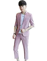 2ffdf5ca2ab55 Amazon.co.jp  ピンク - スーツ   スーツ・ビジネスウェア  服 ...