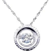 [ララクリスティー] LARA Christie エグザコレクション ローラシア ダイヤモンド ダンシング ネックレス 0.2ct SIクラス Hカラー ゴールド K18 p12778-w02