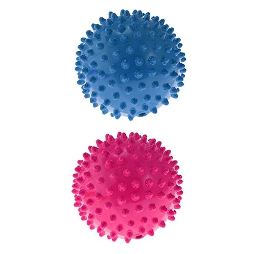 ゆるい制限する眠っているToygogo 2ピース/個PVC膨らんだノビー弾むボールマッサージ感覚ボール子供のおもちゃ