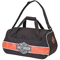 Harley-Davidson Logo Sport Duffel/Rust/Black