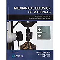 Mechanical Behavior of Materials (5th Edition)【洋書】 [並行輸入品]