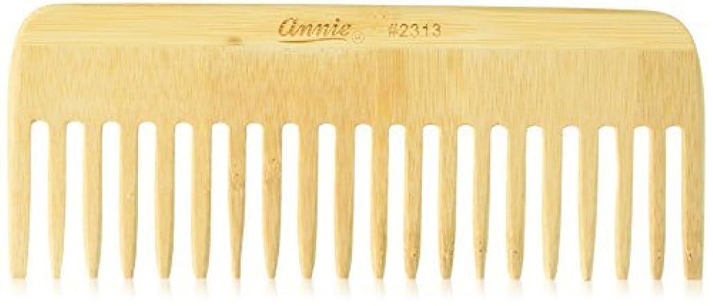 手つかずので出来ている田舎Annie Bamboo Volume Comb, 7 Inch [並行輸入品]