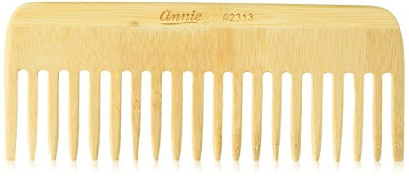 クラッチペルセウス打倒Annie Bamboo Volume Comb, 7 Inch [並行輸入品]