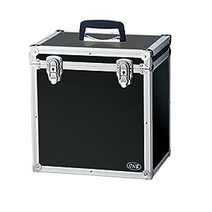 CNB レコードケース LP用 収納枚数 約50枚 LPC-310 ブラック