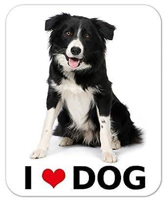 kmag 犬マグネット I love dog ボーダーコリー
