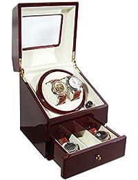 ツインワインディングマシーン 2本巻き 腕時計収納ケース付 KA073RD レッド