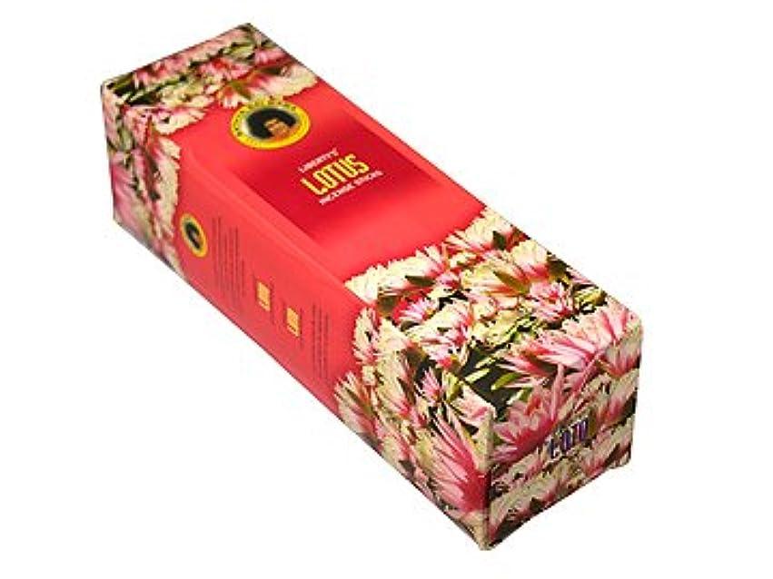 幻想的熟達した熱心なLIBERTY'S(リバティーズ) ロータス香スクエアパック スティック LOTUS 25箱セット