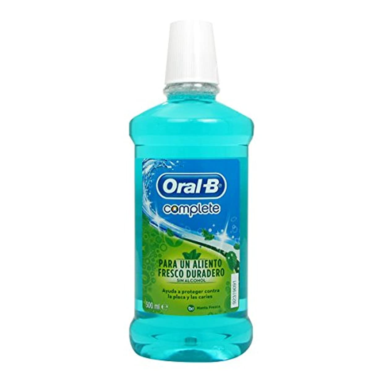 Oral B Complete Fresh Mint Elixir 500ml [並行輸入品]