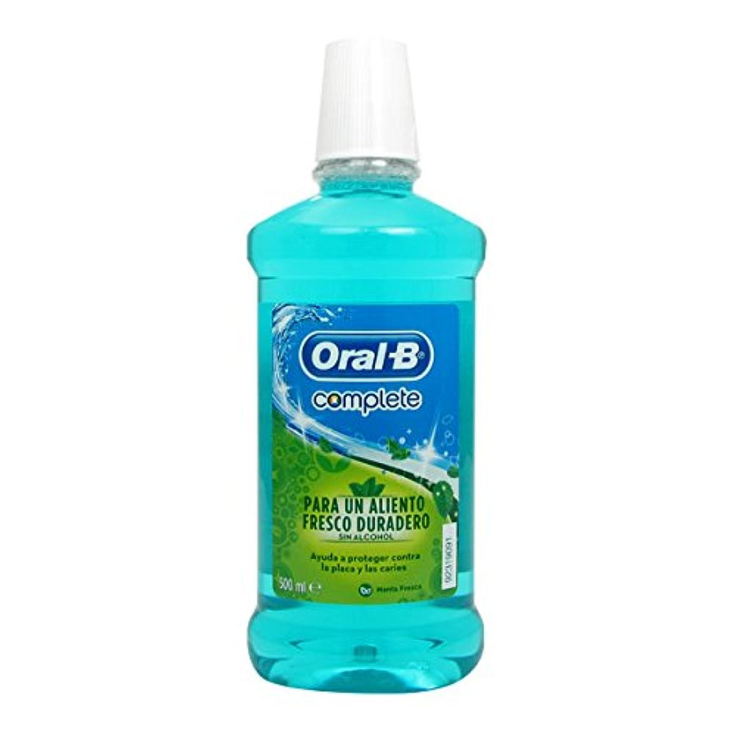 公平特権的組み合わせるOral B Complete Fresh Mint Elixir 500ml [並行輸入品]