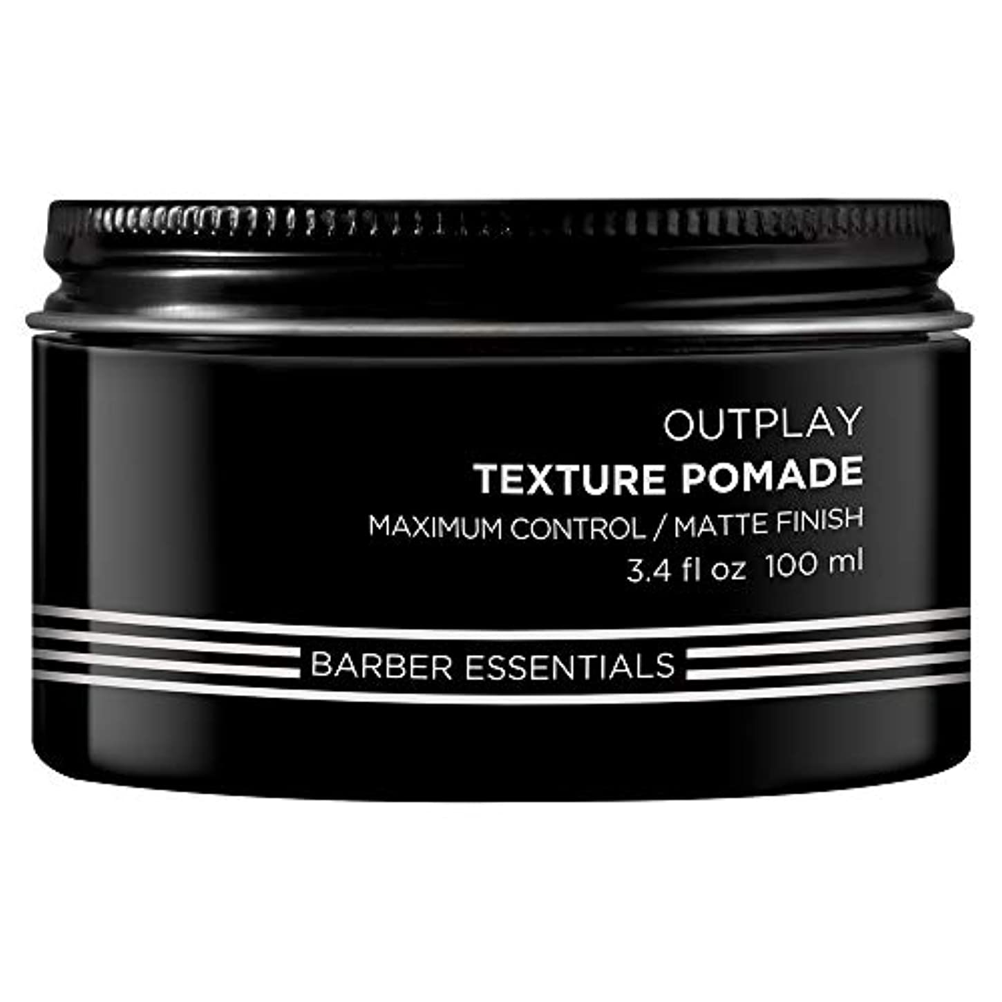 偽奇跡的な取り除くBrews Outplay Texture Pomade