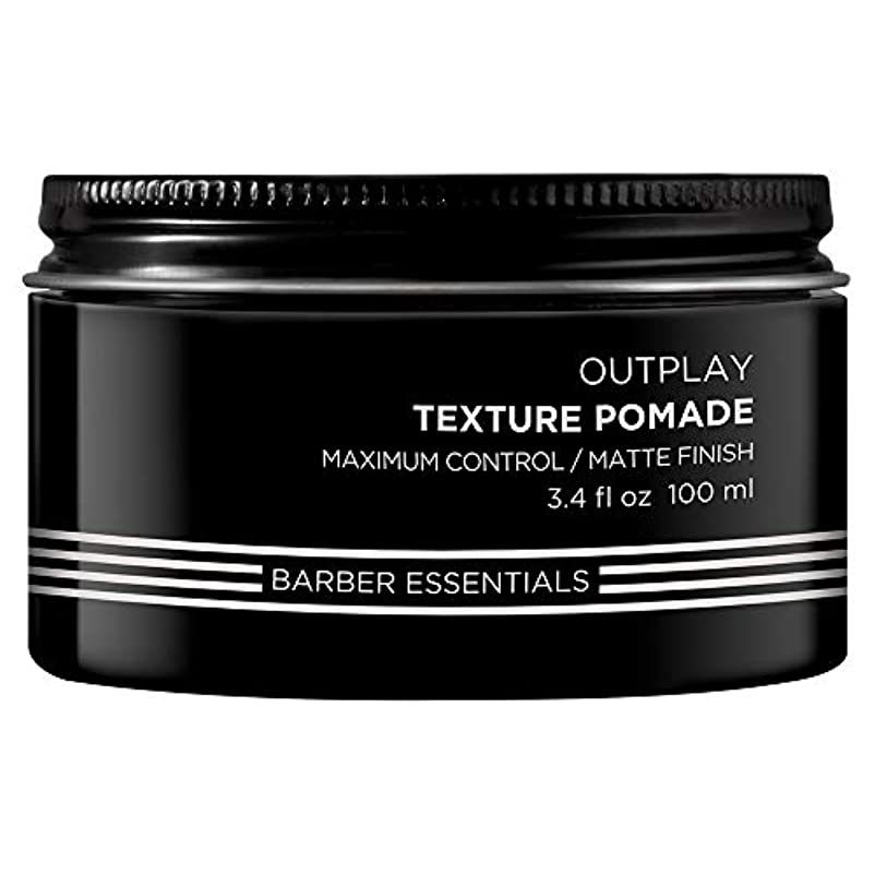 排気郵便血まみれのBrews Outplay Texture Pomade