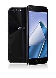 ASUS ZenFone4 SIMフリー スマートフォン (ブラック/5.5インチ)【日本正規代理店品】(オクタコアCPU/6GB/64GB/3300mAh) ZE554KL-BK64S6/A
