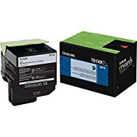Lexmark 701XK - Extra High Yield - black - original - toner cartridge LCCP, LRP - for Lexmark CS510de, CS510dte