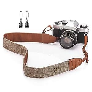 TARION カメラストラップ ボヘミアン スタイル 長さ調節可能 ニコン キヤノン ソニー パナソニック 富士フイルムなど対応