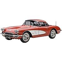 AUTOart 1/18 シボレー コルベット 1958 レッド 完成品