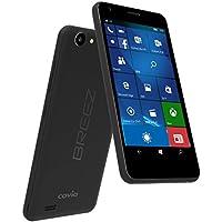 covia SIMフリー スマートフォン BREEZ X5( Windows 10 Mobile / 5インチ HD IPS液晶 / マイクロSIM スロット×2 / FLASH ROM:8GB、RAM:1GB )