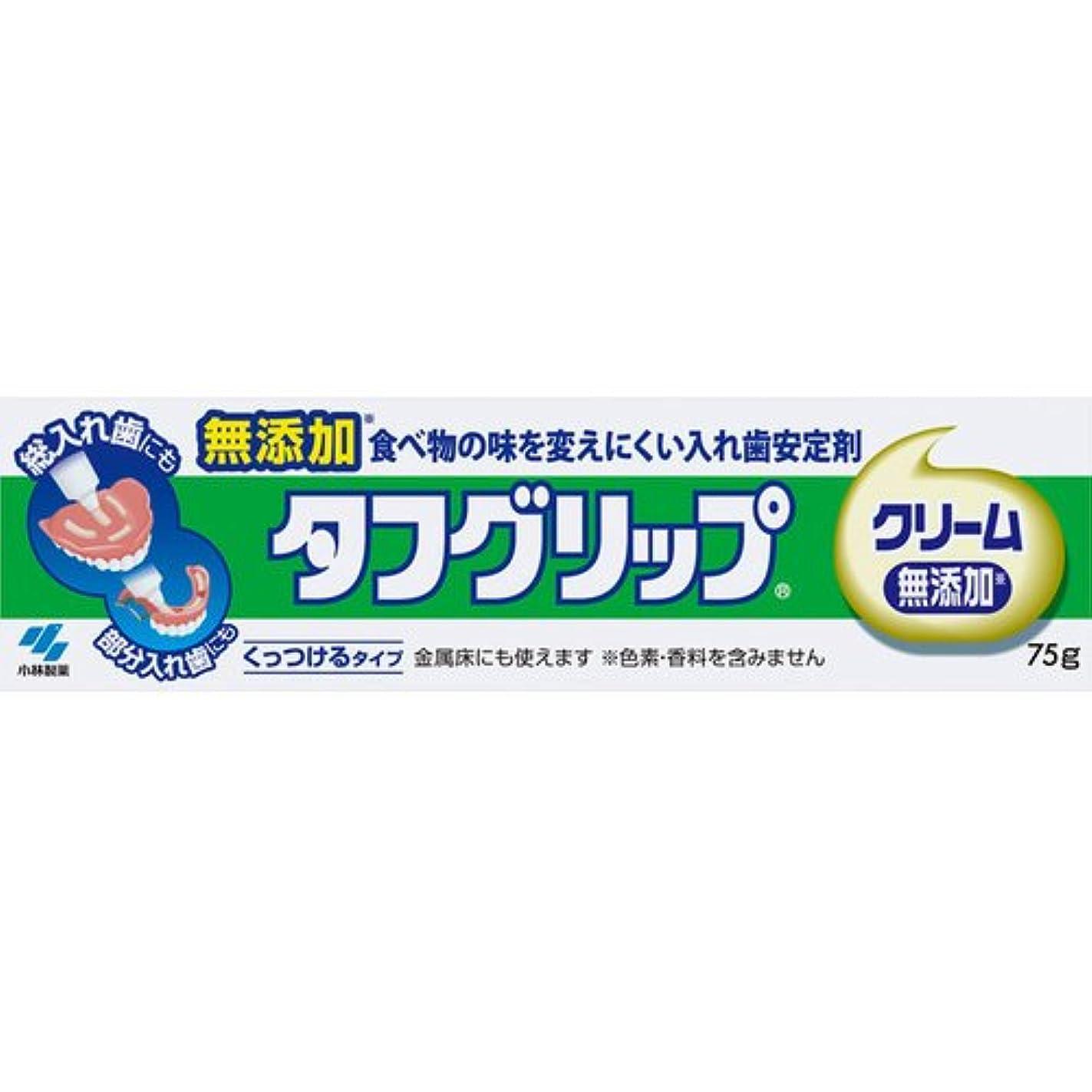 宇宙船ゲージ放出【小林製薬】タフグリップクリーム 無添加 75g