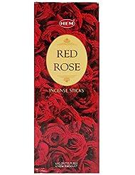 Hem Precious Red Roses Incense Sticks (Pack of 6) by Hem [並行輸入品]