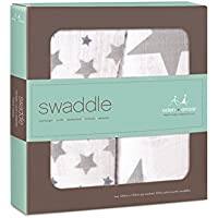 押さえつける、パックあたり2きらきら (Aden & Anais) (x 2) - Aden + Anais Swaddle, Twinkle 2 per pack (Pack of 2) [並行輸入品]