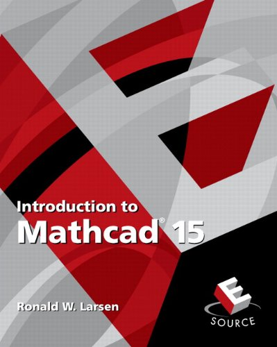 Download Introduction to Mathcad 15 0136025137