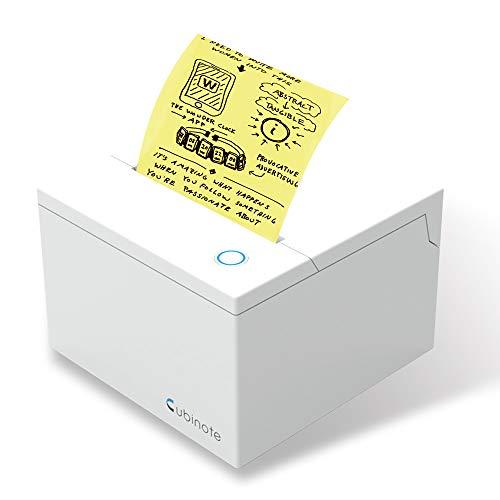 Cubinote PRO キュービーノート プロ 離れた場所から PC スマホから 印刷 プリンター Wi-Fi Bluetooth 【日本正規代理店商品】 (White)