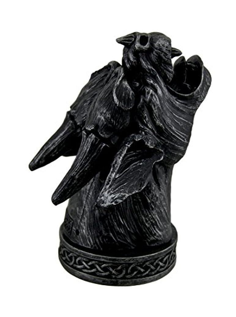 通路太平洋諸島過去Temple Mist Smoking Gargoyle Incense Cone Burner Box