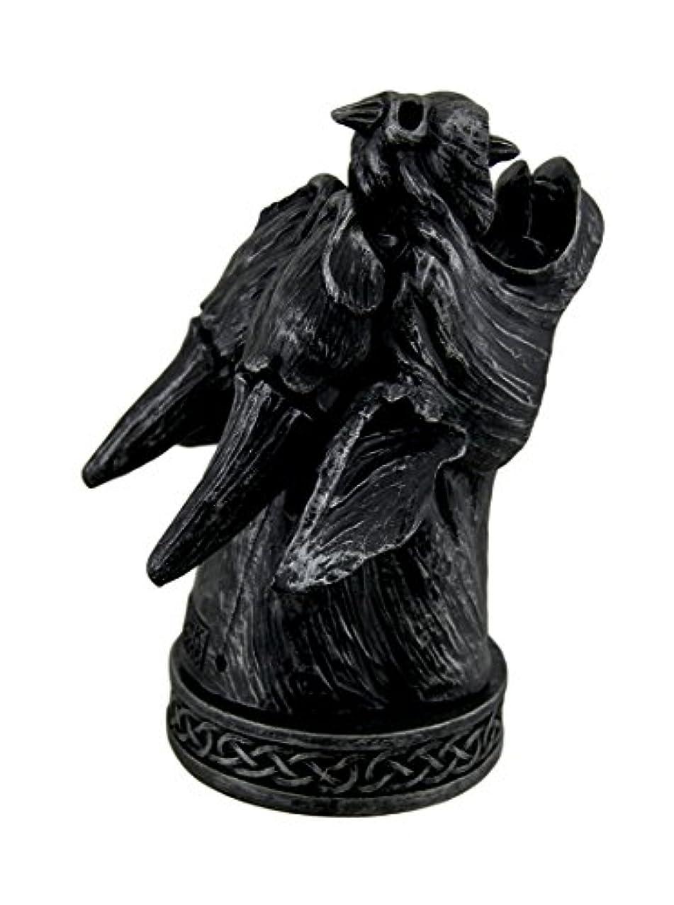 ママオーバーフロー粘土Temple Mist Smoking Gargoyle Incense Cone Burner Box