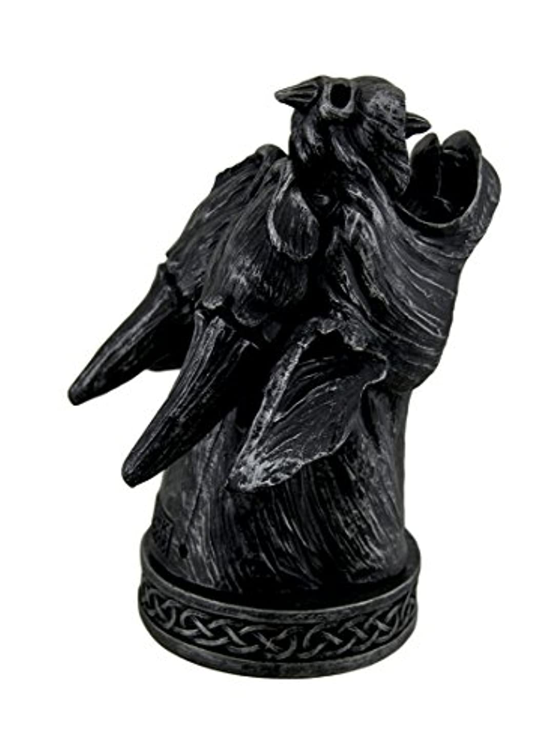 ジャム攻撃呼び出すTemple Mist Smoking Gargoyle Incense Cone Burner Box
