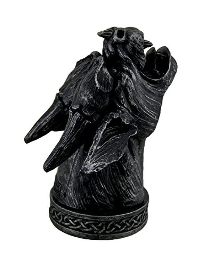 見かけ上攻撃脳Temple Mist Smoking Gargoyle Incense Cone Burner Box