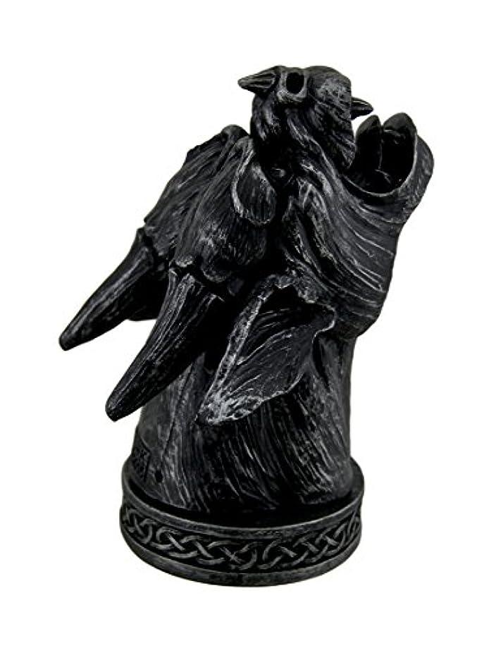 反毒香り書道Temple Mist Smoking Gargoyle Incense Cone Burner Box