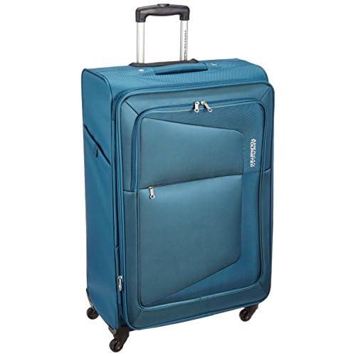 [アメリカンツーリスター] AmericanTourister スーツケース COSTA コスタ スピナー76 113L/124L 4.6kg 拡張機能 無料預入受託サイズ 保証付 75W*01003 01 (ティールブルー)