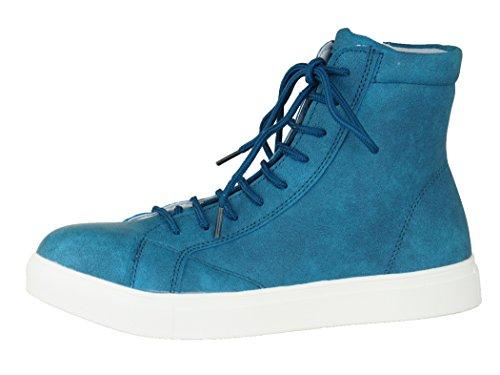 (チャーリーワークス)Charlie works チャーリー安全靴 CH001 メンズ レディース (030)ダックブルー×ホワイト 26.5cm