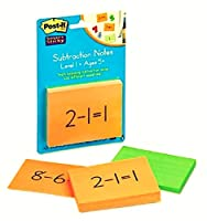 Post - it ®教育NOTE PAD FOR SUBTRACTION