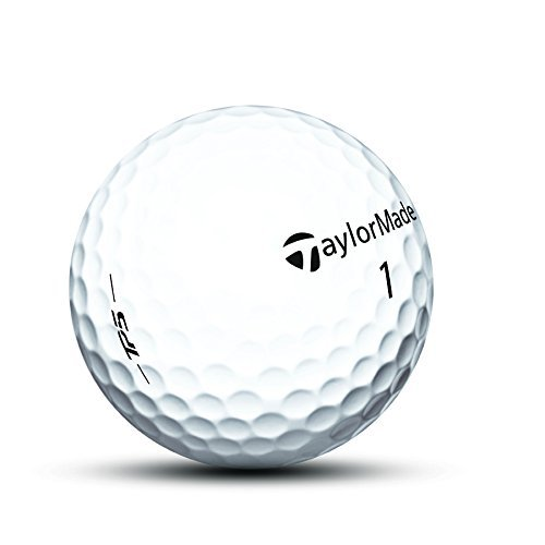 TaylorMade TP5 Prior Generation Golf Balls (One Dozen), Mens, TP5 Golf Ball, TP5 Golf Ball, White, Large