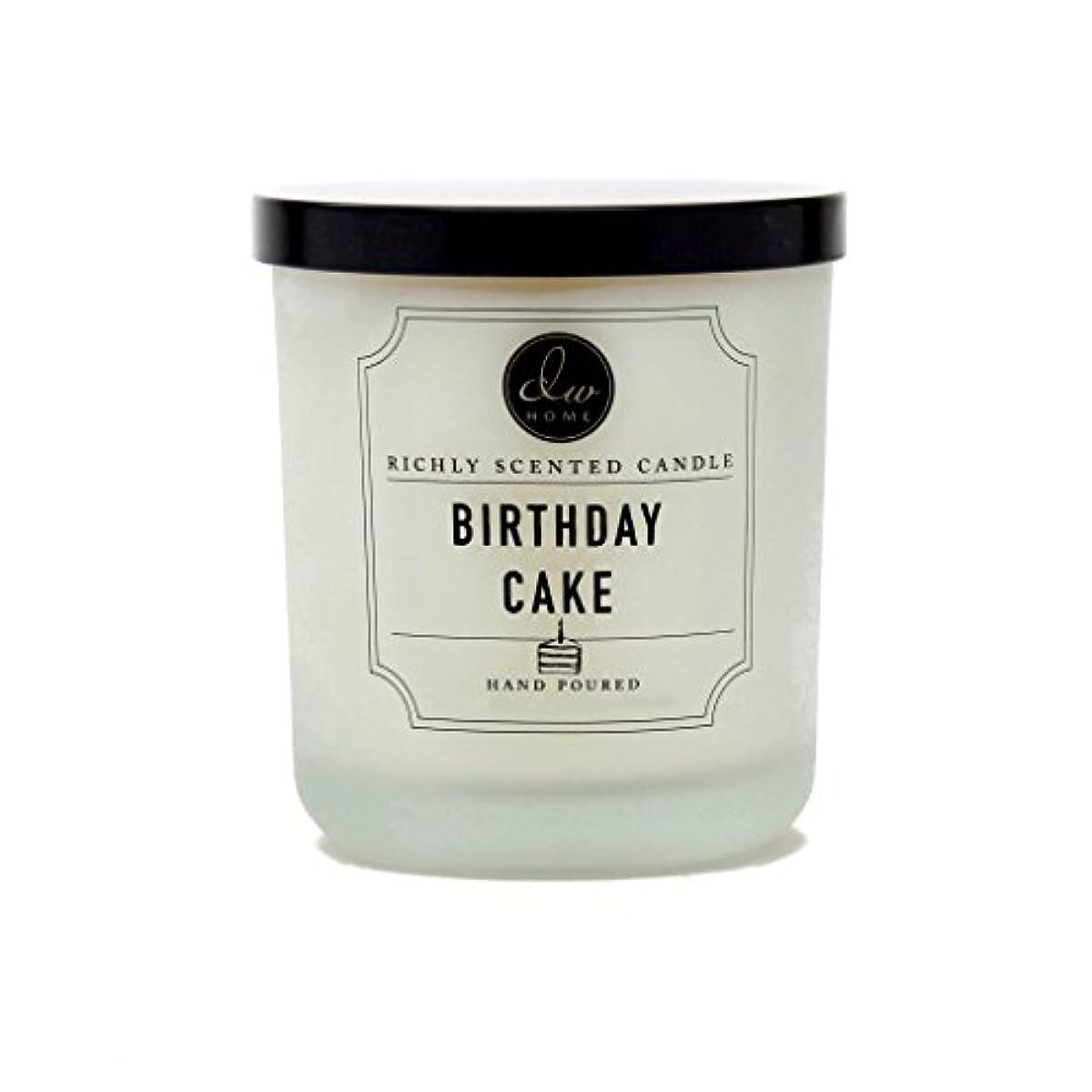 定刻サミット砂漠DW ホーム バースデーケーキ リッチな香り キャンドル S サイズ シングル灯心 手作り 4 オンス